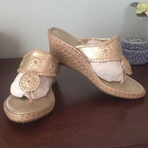 Jack Rogers wedge. Size 7.5. EU condition.